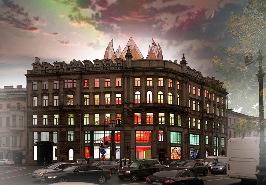 Centro artistico, commericale, Hotel Luxory San Pietroburgo