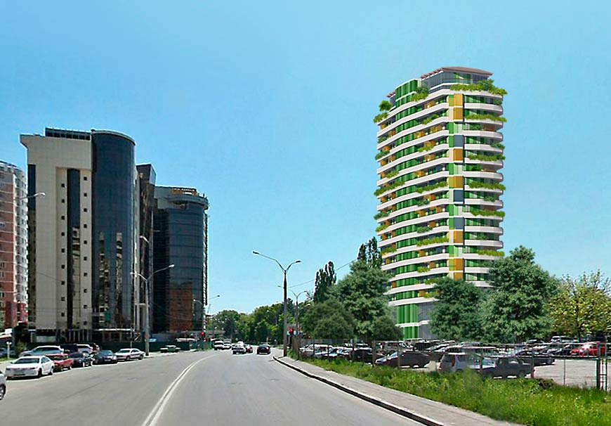 Heliantus Luxury Green Building + Spa