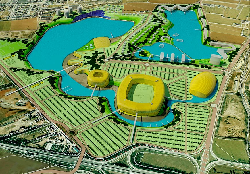 Super Housing + Sport Eco Park