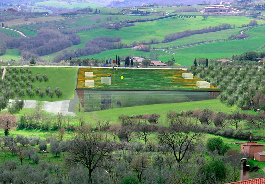 Complesso multifunzionale centro congressi Chianciano Terme